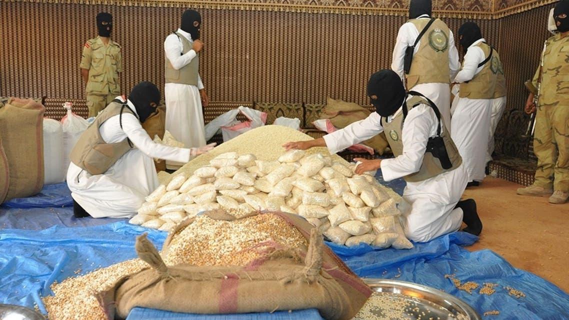 كمية من حبوب كبتاجون تم ضبطها في السعودية