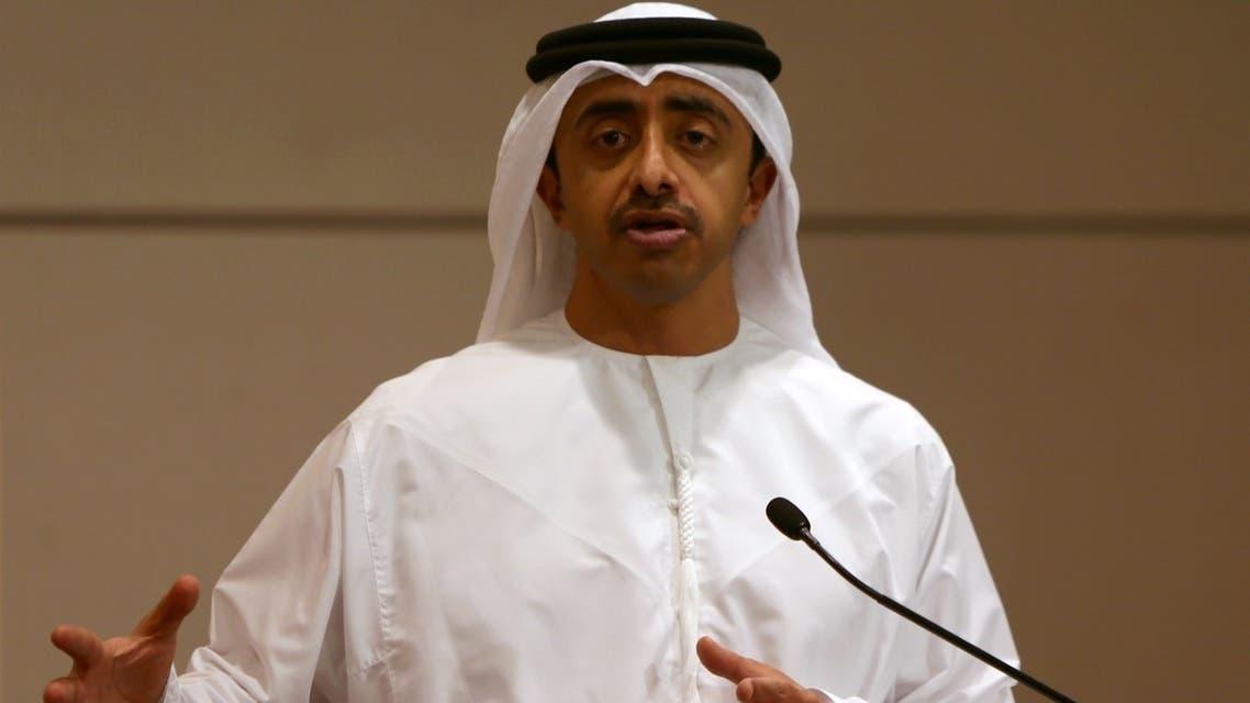 Sheikh Abdullah Bin Zayed al-Nahyan AFP
