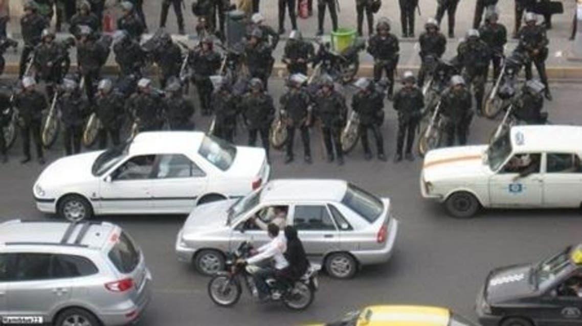 فضای امنیتی در تهران