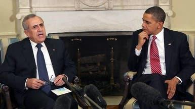 أوباما يعبر للبنان عن قلقه من دور حزب الله في سوريا