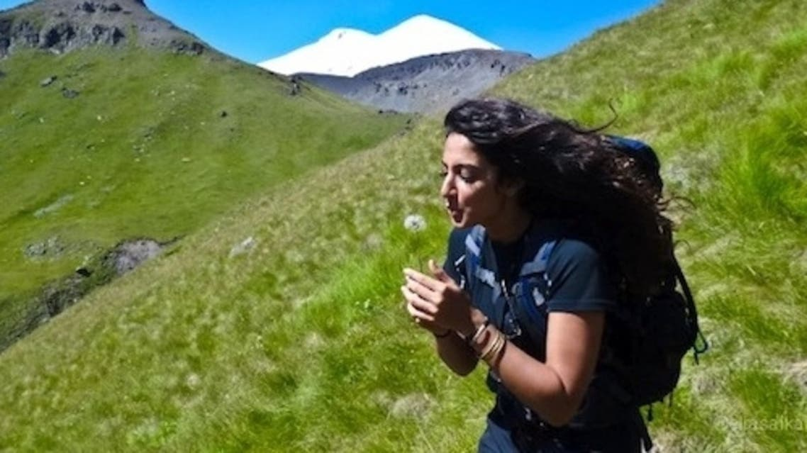 Raha Mobarak next goal is to climb the highest peaks in all seven continents.