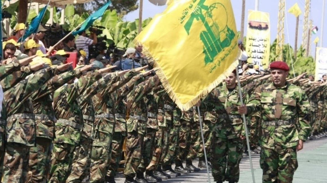 Lebanon's Hezbollah fighters take part in a military parade. (File Photo: Reuters)