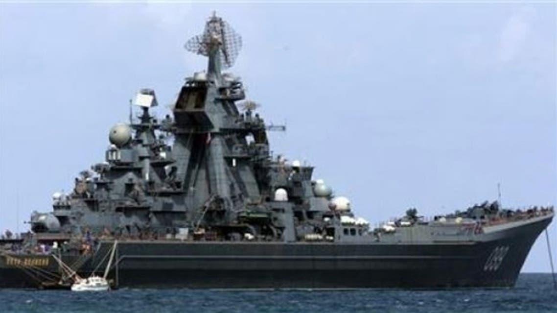 سفن روسية في البحر المتوسط تتجه إلى سوريا