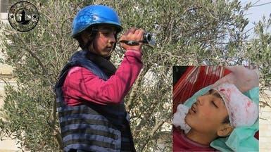"""""""الحر"""" في درعا ينعى """"عمر"""" أصغر إعلاميي الثورة السورية"""