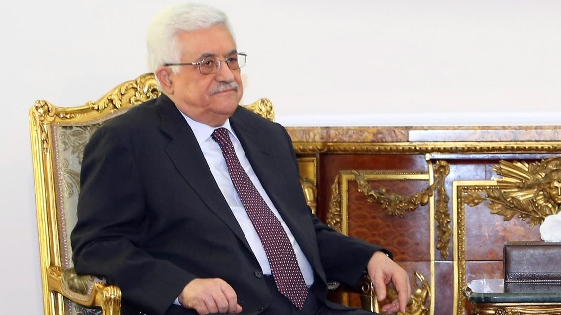 Palestinian president Mahmoud Abbas, pictured earlier this month, is set to attend the World Economic Forum in Jordan. (File photo: AFP)