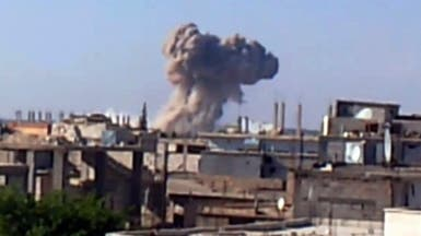 الثوار يرسلون تعزيزات للقصير وجيش النظام يكثف القصف