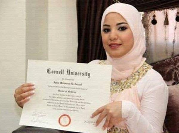 أصغر طبيبة في العالم فلسطينية عمرها 20 سنة