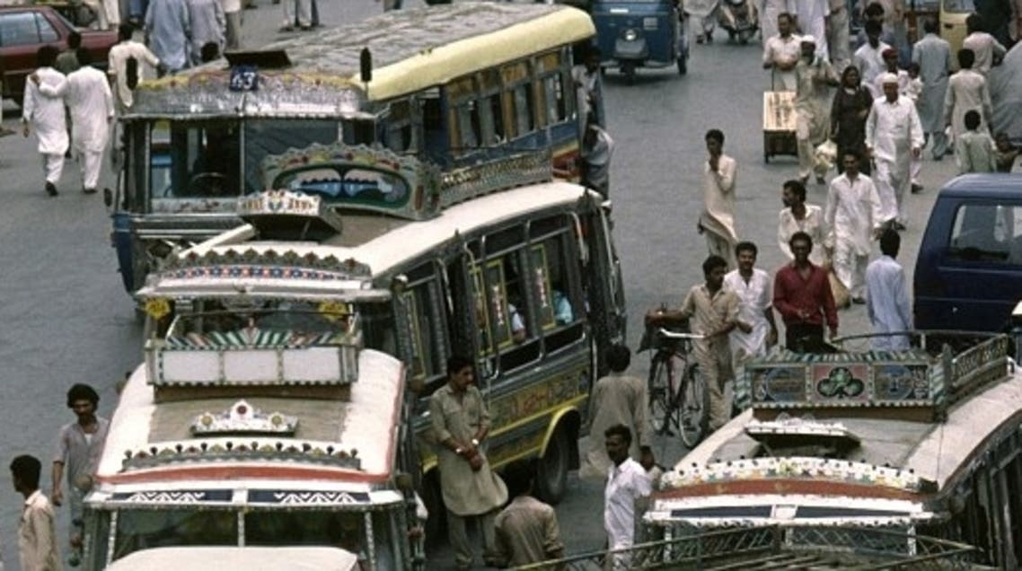 Pakistan has one of the world's worst records for fatal traffic accidents, blamed on poor roads, badly maintained vehicles and reckless driving. (Photo courtesy: Alamy)