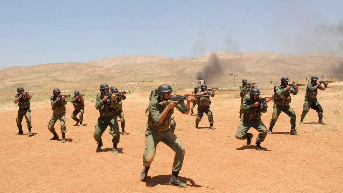 Syrian security forces Reuters
