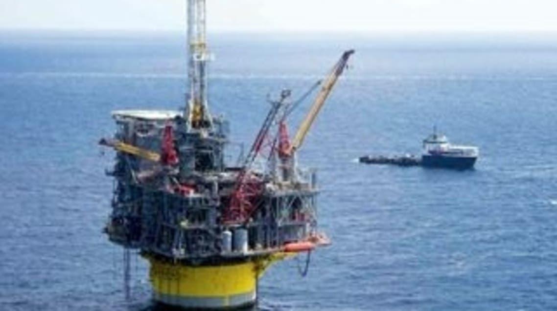 منصة نفطية بحرية تابعة لشركة شل