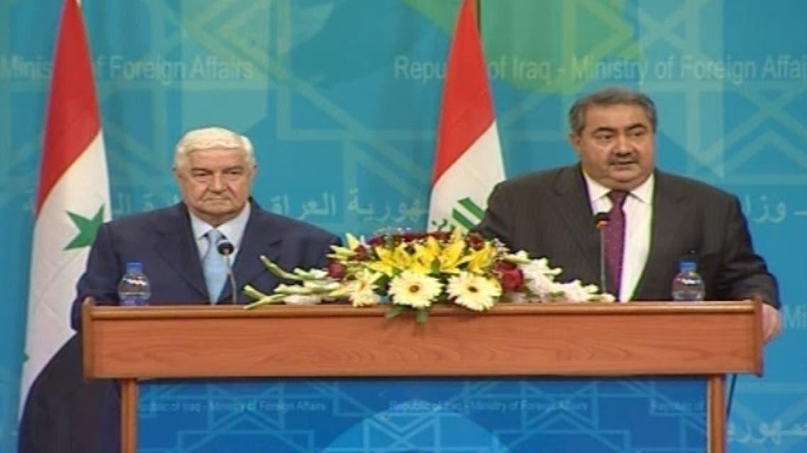 وزير خارجية سوريا والعراق