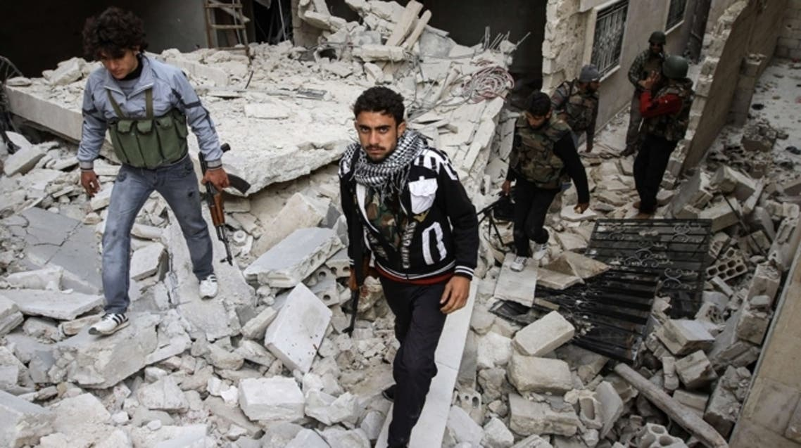 Activists reported heavy clashes between government forces and rebels in the suburbs of Damascus [AFP]