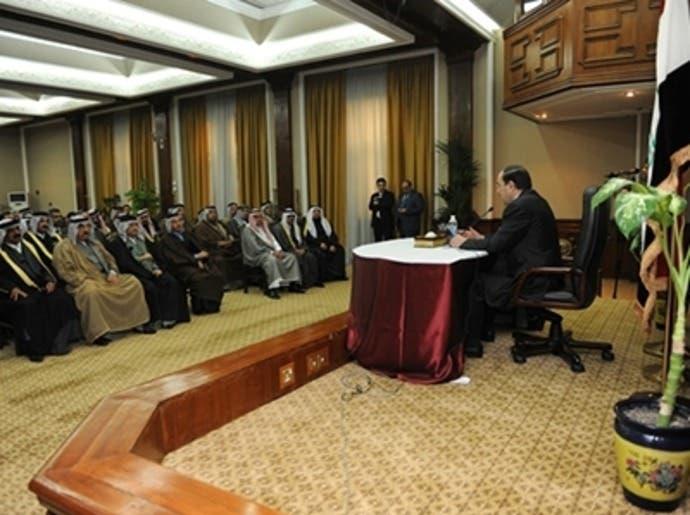 عشائر الأنبار تشكل لجنة للتفاوض مع المالكي وسط خلافات