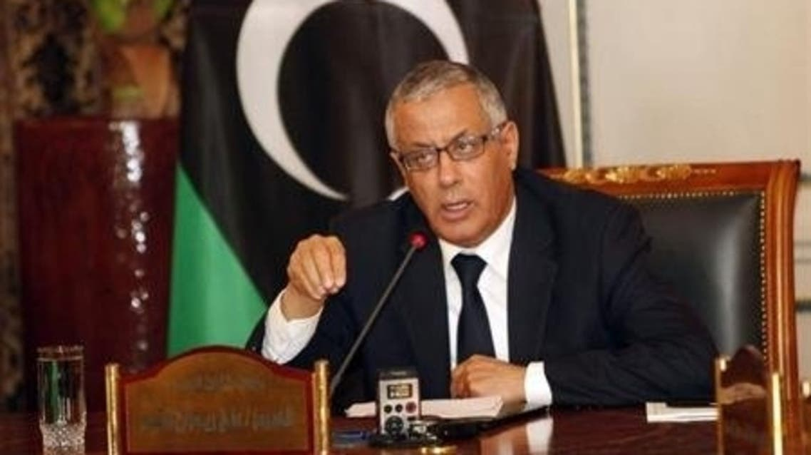 Libya Prime minister reuters