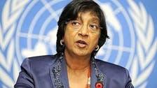 Syria violence reaches 'horrific dimensions,' U.N.'s Pillay says