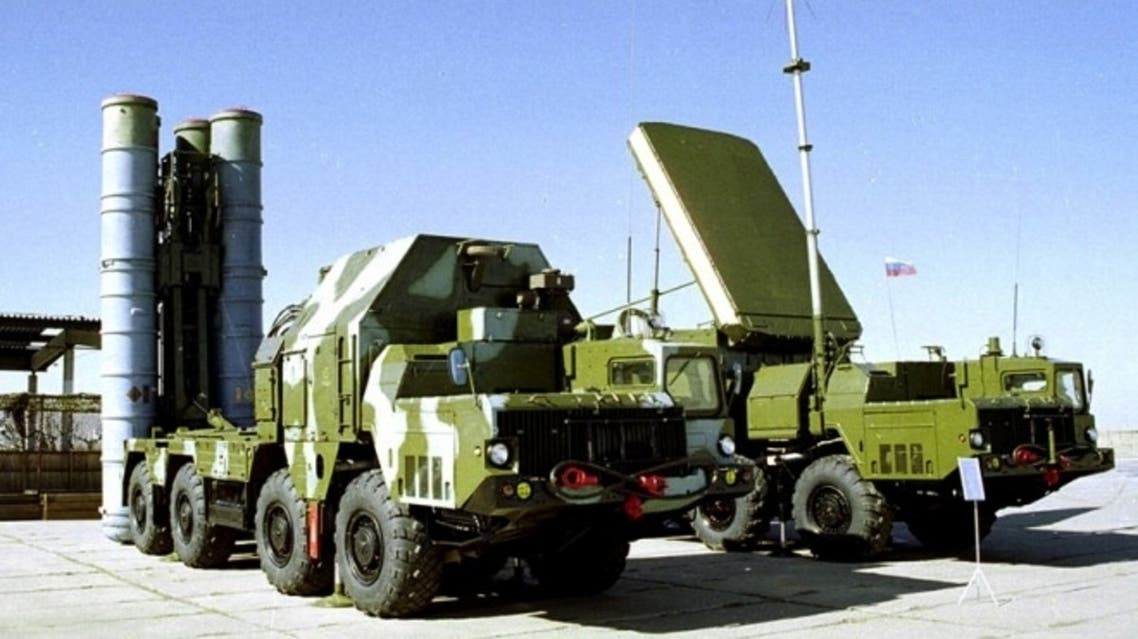 S-300 anti-aircraft missiles to Syria AP