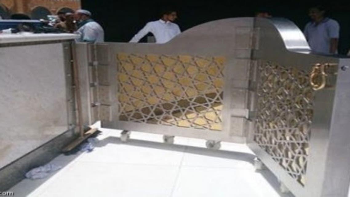 باب جديد لحِجر الكعبة المشرفة لتنظيم دخول المصلين