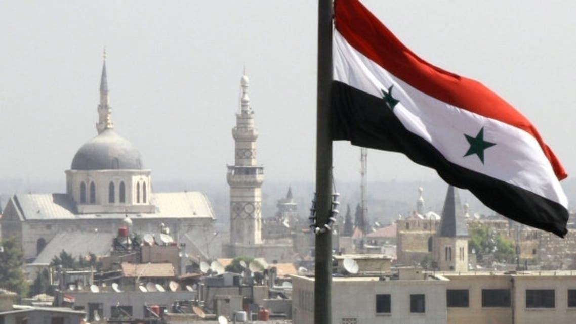Syria flag-AFP