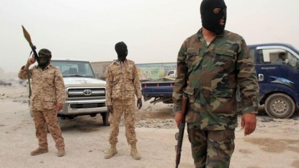 Libya Soldiers AFP