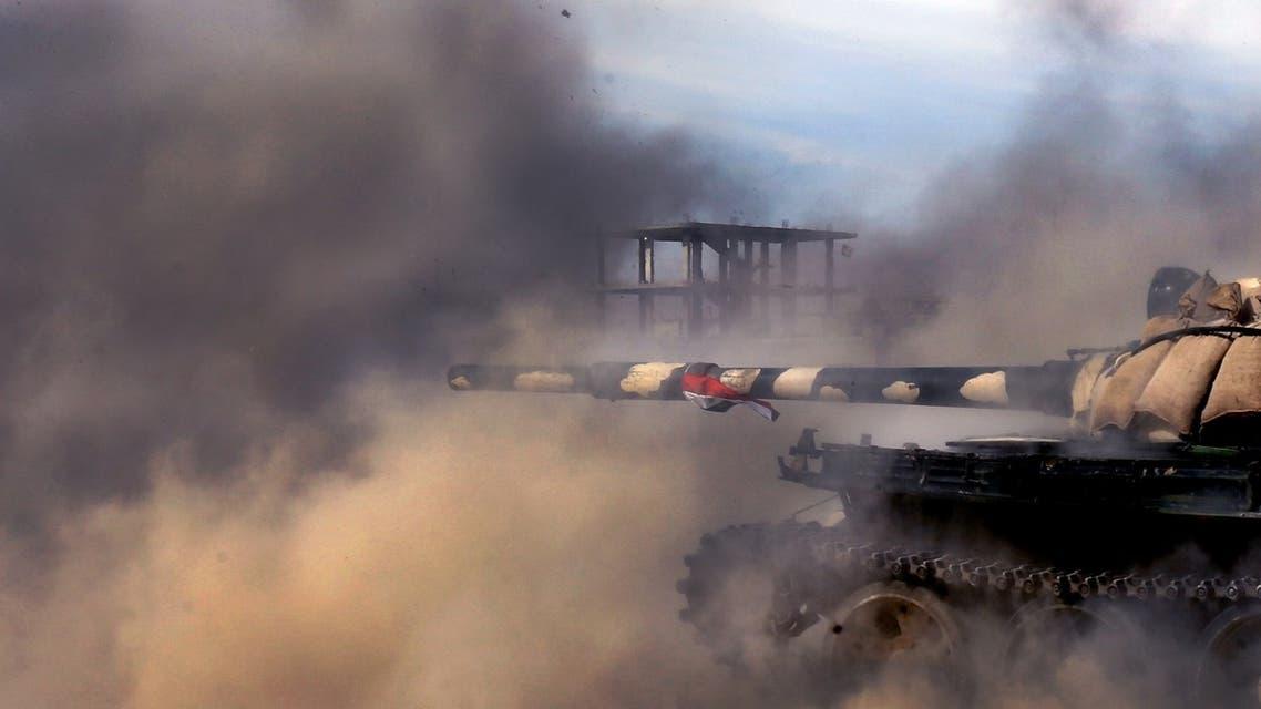 Syrian army AFP