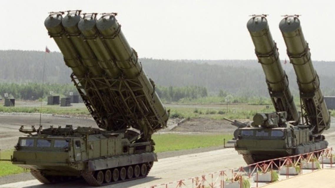 صواريخ إس 300 الروسية