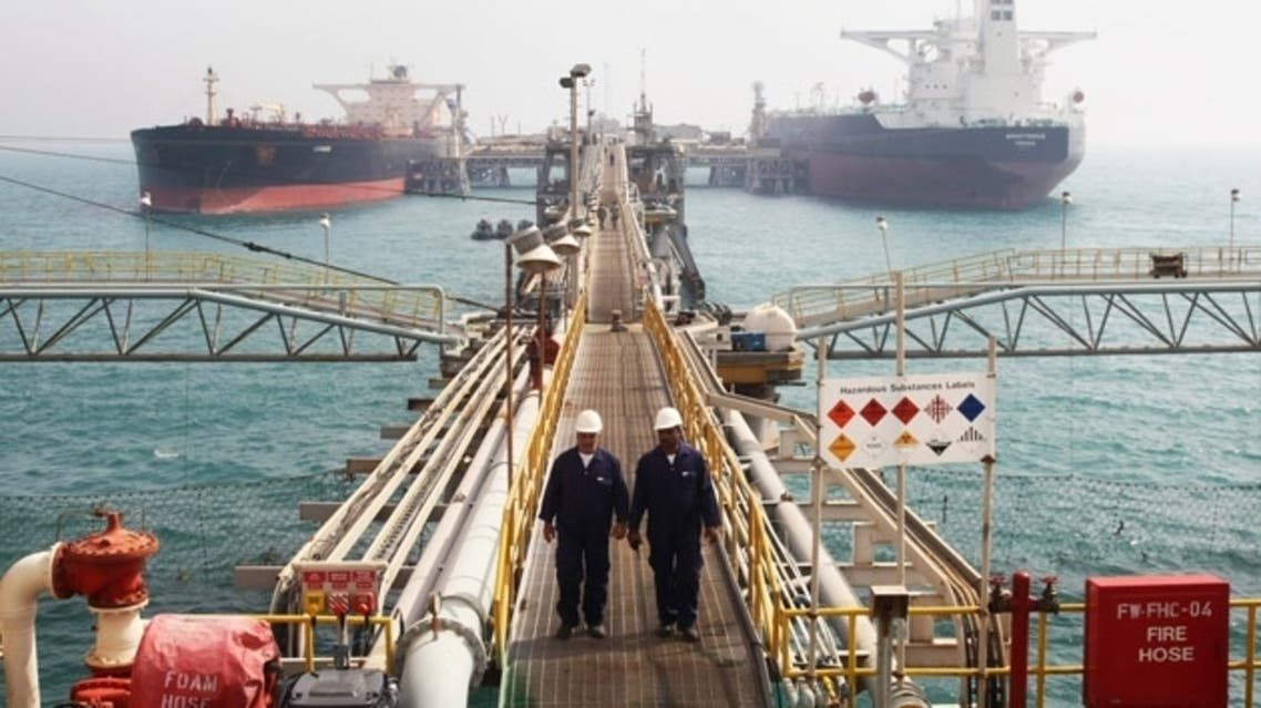Oil tankers anchored at Basra harbor, south of Baghdad (File Photo: AFP)