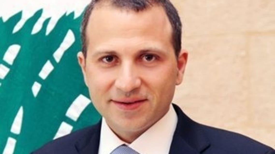 جبران باسيل وزير الطاقة اللبناني