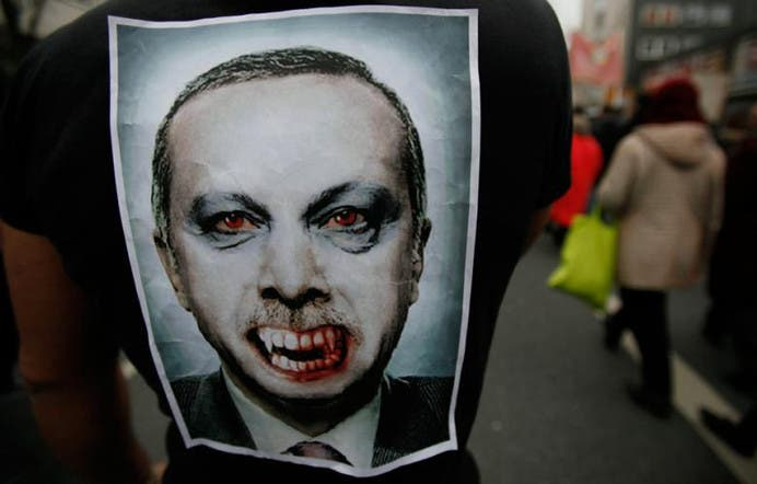 Erdogan rejects 'dictator' claims, says Twitter is a 'menace'