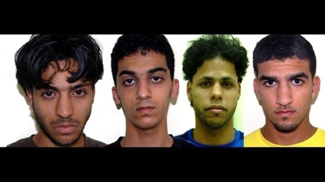 بحرینی مشتبہ افراد