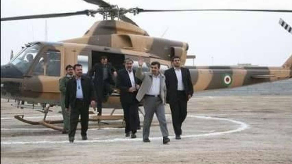 مروحية الرئيس الإيراني تهبط اضطراريا في شمال شرق طهران
