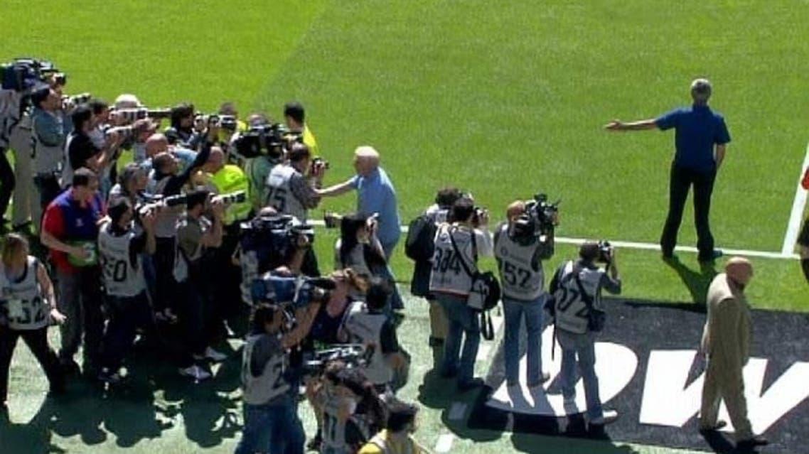 الصحافيون تسببوا في إيقاف مباراة الريال الأخيرة