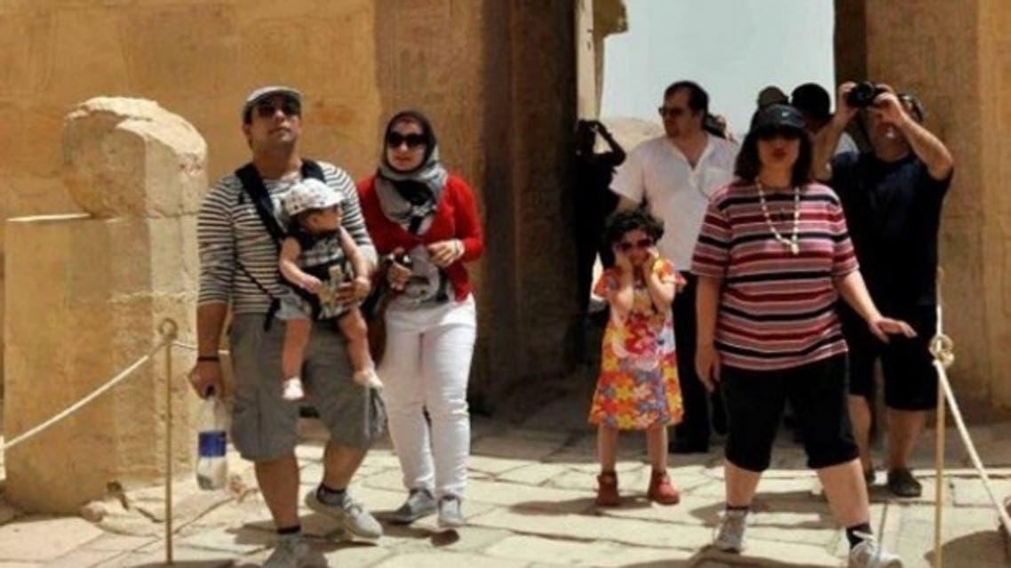 سياح إيرانيون في مصر