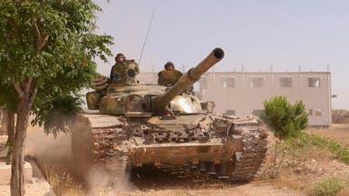 مقتل 16 من قوات النظام في تفجير واشتباكات قرب دمشق