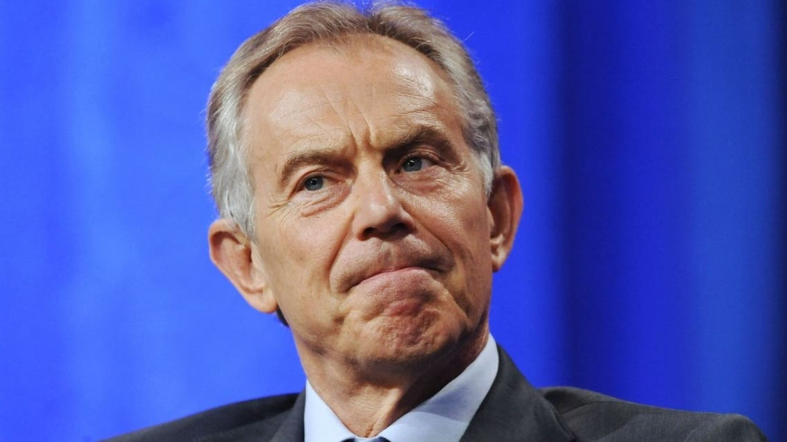 Tony Blair. (AFP)