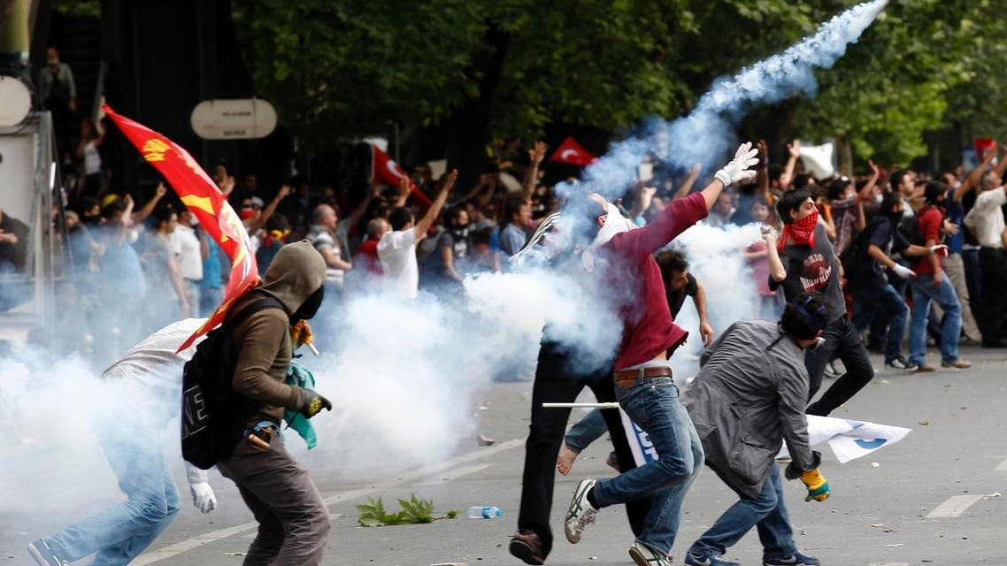 Experts warned that prolonged unrest in cities like Ankara, pictured, could hit Turkey's economy. (Reuters)