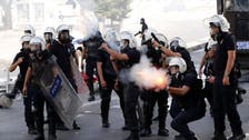 Police tear gas protestors by Turkish PM's Istanbul base