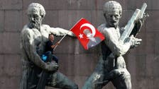 Erdogan denies 'Turkish Spring', 1 dead in protests