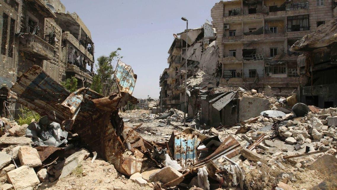 Aleppo Reuters