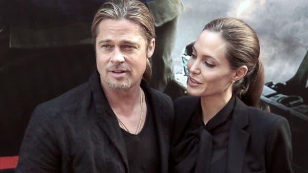نتيجة بحث الصور عن أنجلينا جولي وبراد بيت في أول ظهور لها بعد استئصال صدرها