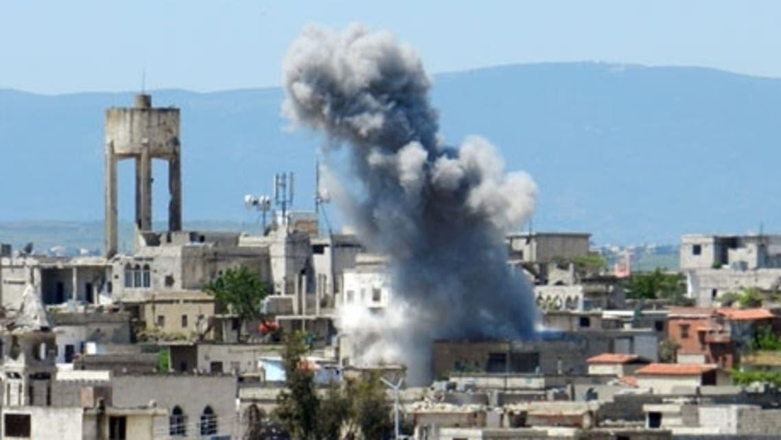 syria shelling AFP