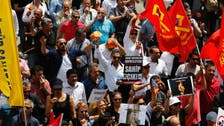 Turkish trade unions join protests against Erdogan