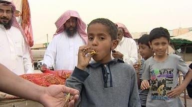 """""""الصحة"""" السعودية: تناول الجراد ولمسه يسبب السرطان"""