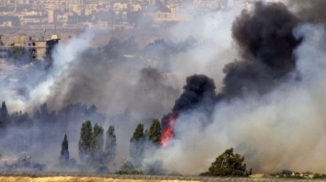 Golan clashes