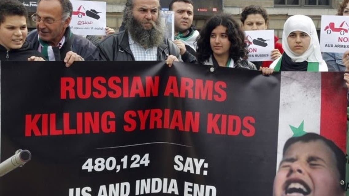 syria russia AFP