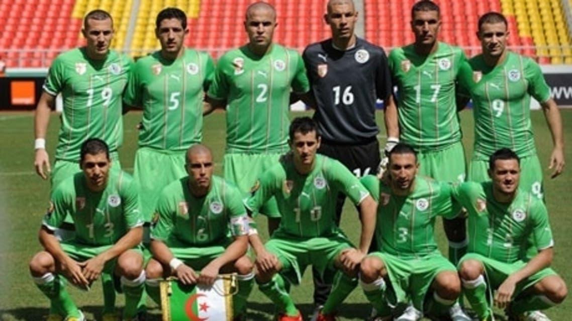 Algeria team (AFP)
