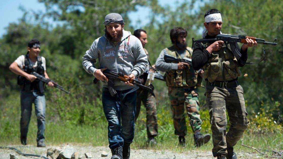 Syria EU fighters (AFP)