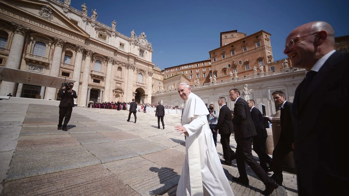 Pope Francis AFP