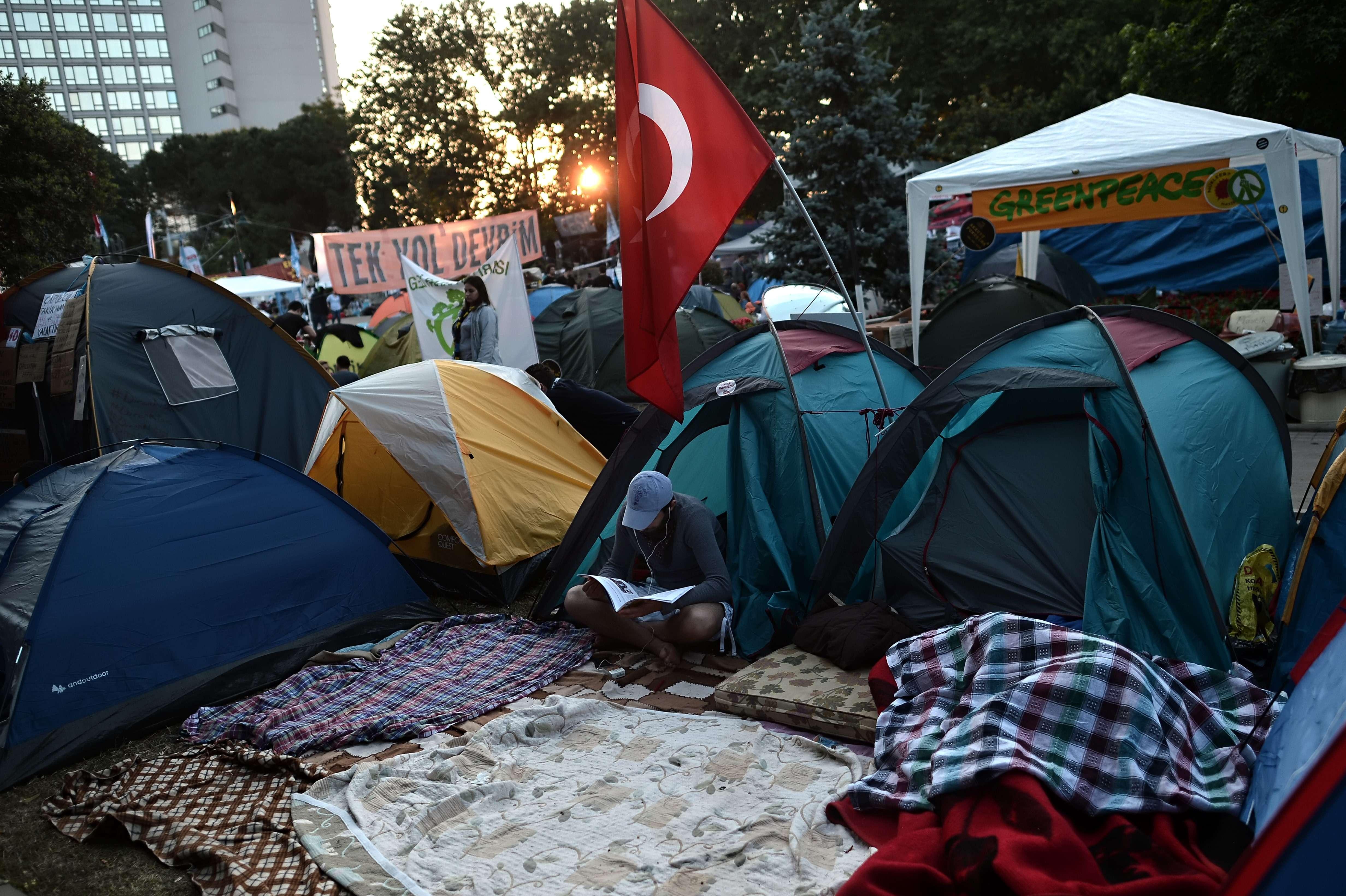 """من تظاهرات اسطنبول """"أرشيفية"""""""