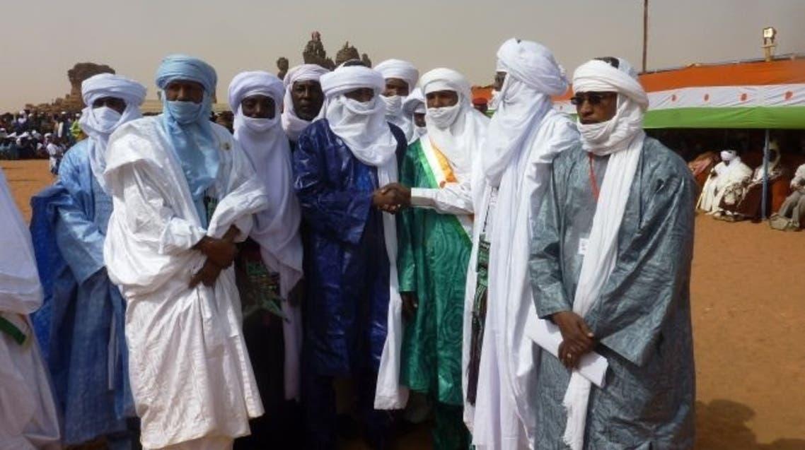 Ex-leaders of the 2007 Tuareg rebellion (AFP)