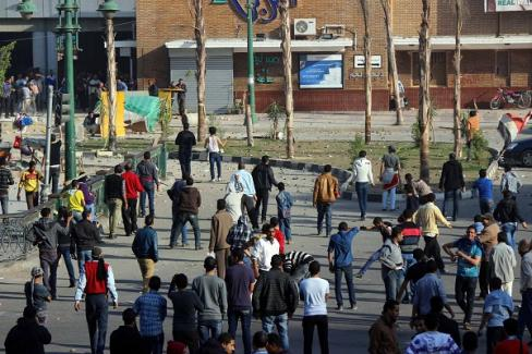 تجمهر وتظاهرات سابقة بمدينة دمنهور